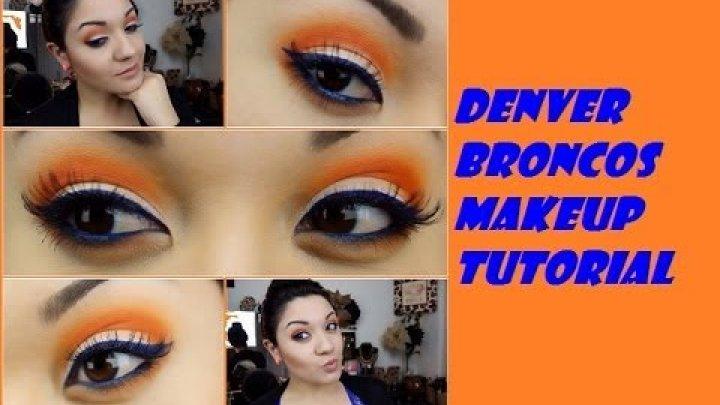 Broncos makeup