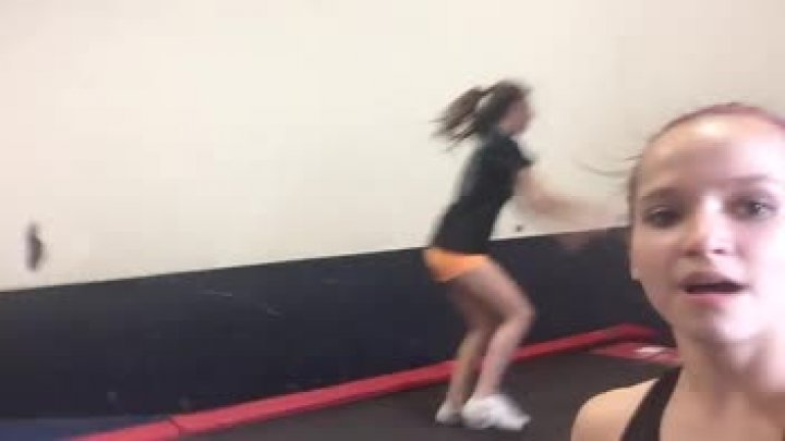 Fun at tumbling!