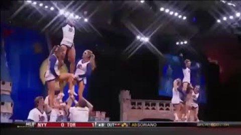 UVA college cheerleading 2014!!!