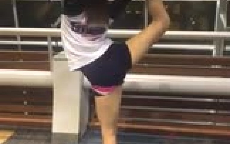Doing my needle